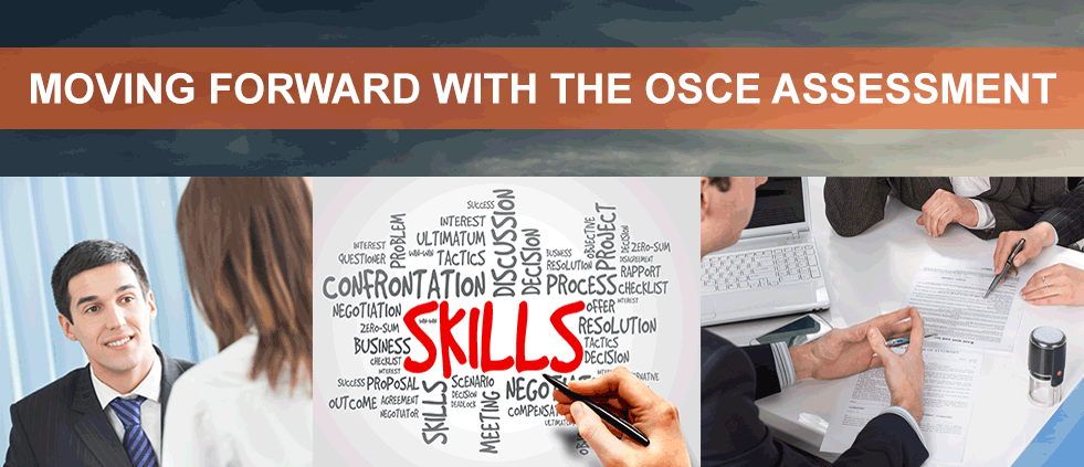 move forward with the osce