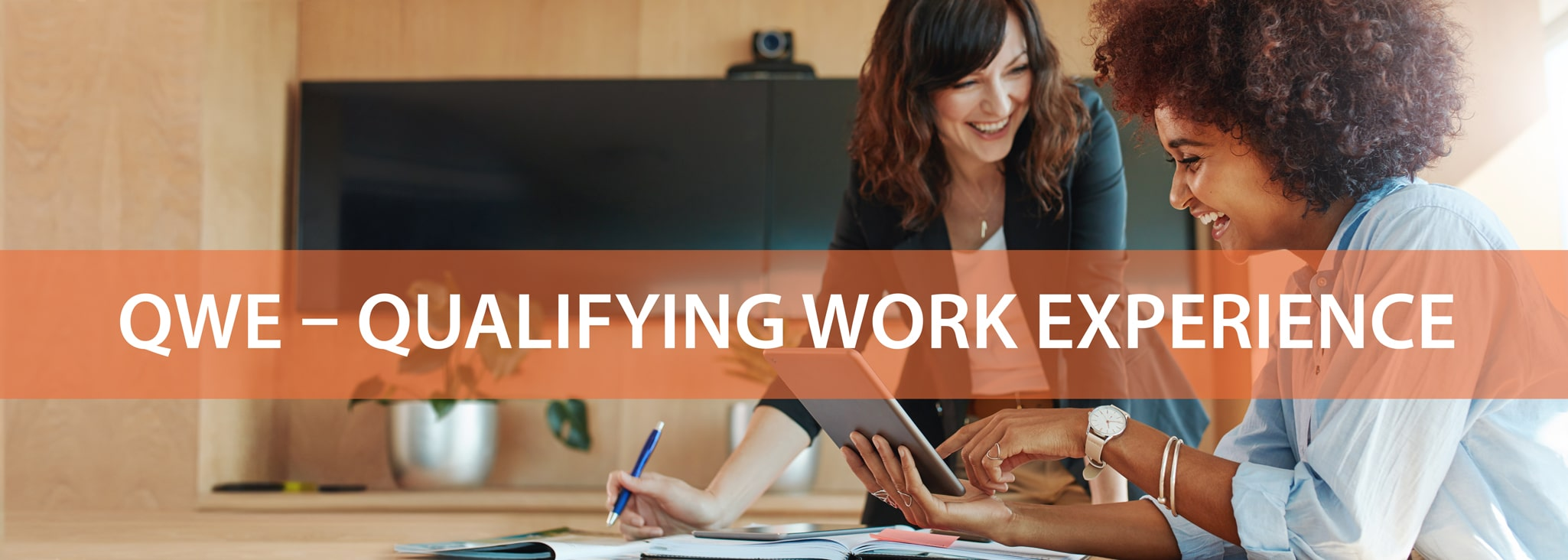 QWE - Qualifying Work Experience