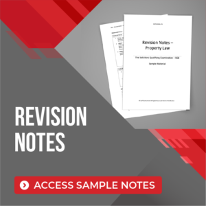 sqe revision notes